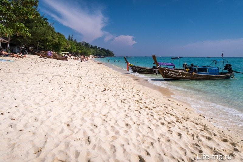 Пляж Лонг Бич, остров Пхи Пхи Дон