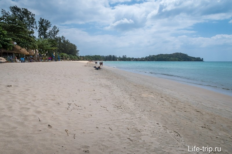 Пляж Клонг Дао (Klong Dao), Ко Ланта