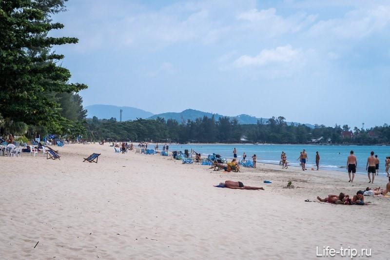 Пляж Клонг Дао (Klong Dao) на Ланте - отличный семейный пляж!