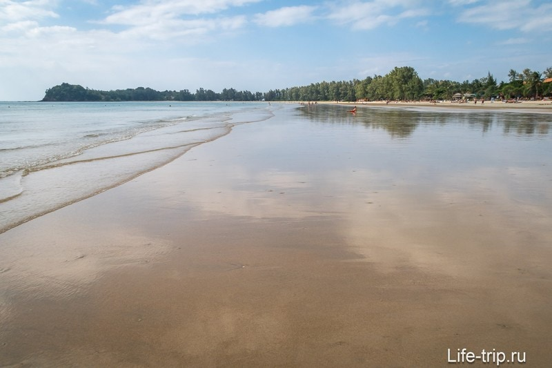 Пляж Клонг Дао во время отлива