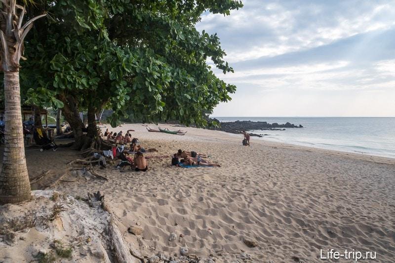 Lanta Secret Beach во время отлива