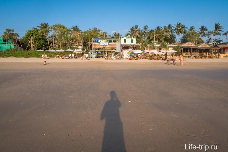 Клонг Нин на Ланте при отливе
