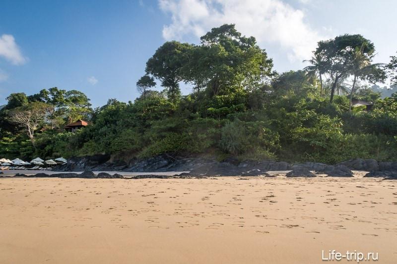 Пляж Ба Кан Тианг Бэй (Ba Kan Tiang Bay) - место для тихого отдыха на Ланте