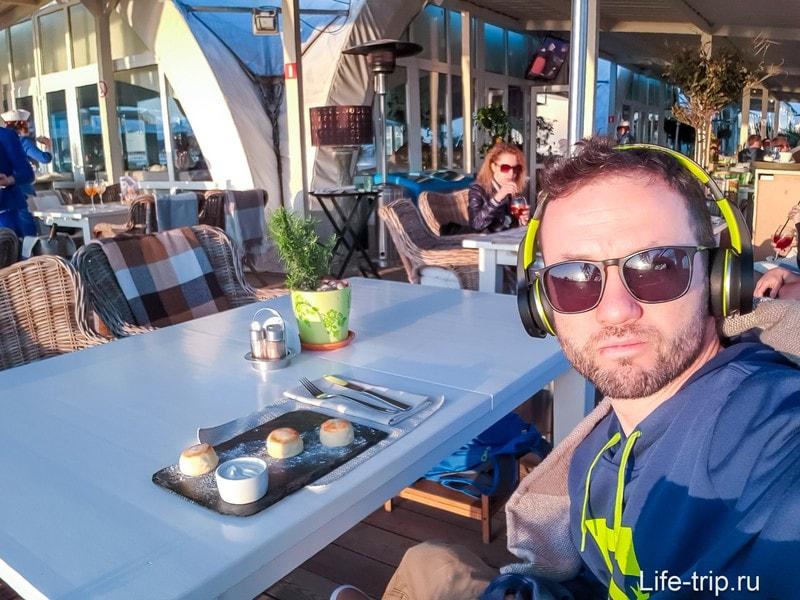 Кафе Парус в Адлере - вкусно, красиво, дорого