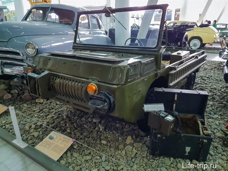 """ЛуАЗ 967 """"ТПК"""", машина, которая управляется лежа."""