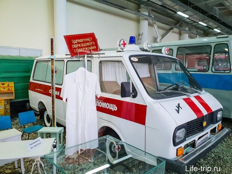 Автомузей в Олимпийском Парке - ностальгия по СССР