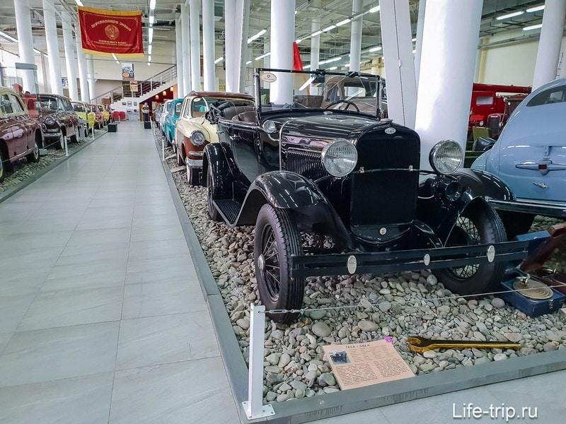 Автомузей в Сочи, ГАЗ-А, выпускавшийся по лицензии Форда.