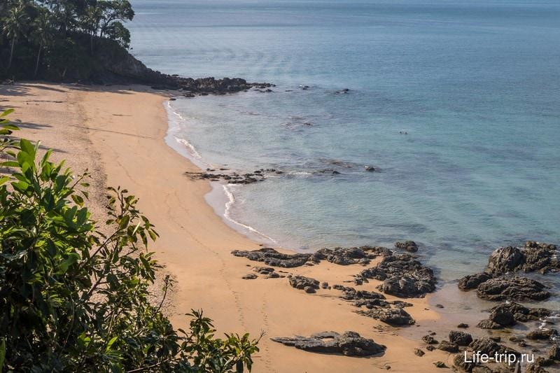 Пляж Нуи на Ланте