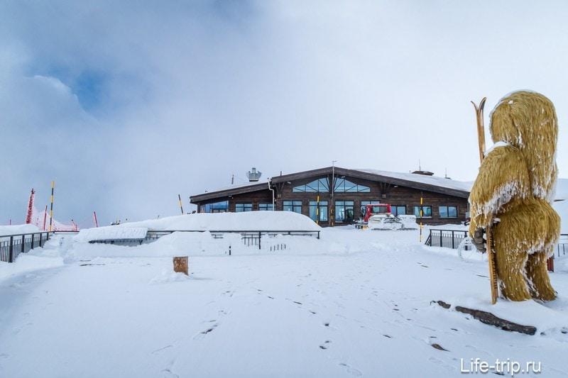Ресторан Высота на 2320 метрах - лучший вид на Роза Хутор
