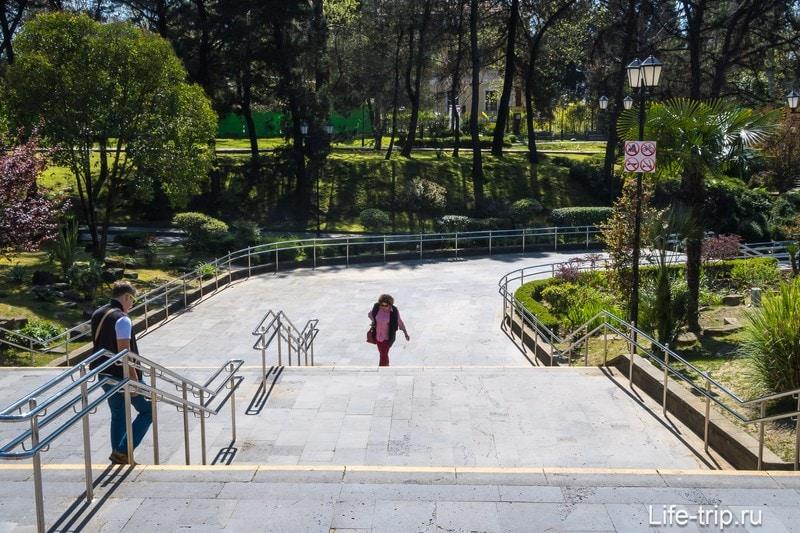 Исторический бульвар в Сочи - секретная прогулочная зона