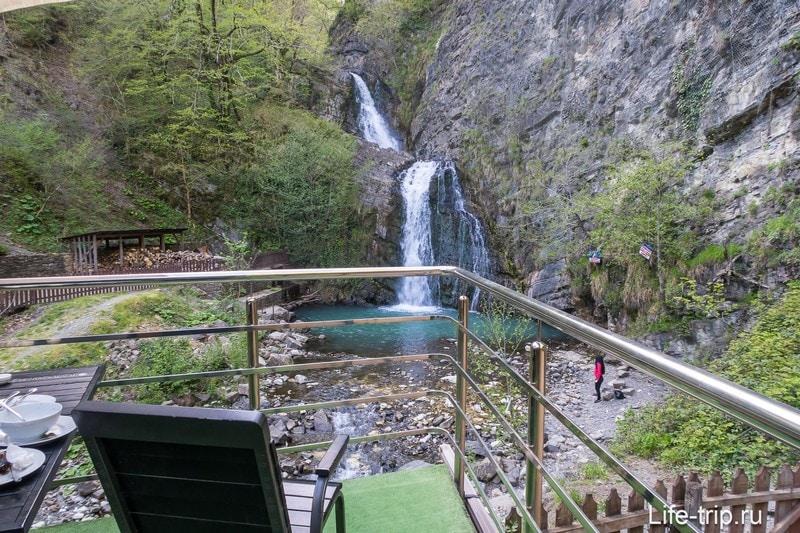 Змейковские водопады в Сочи - 4 штуки