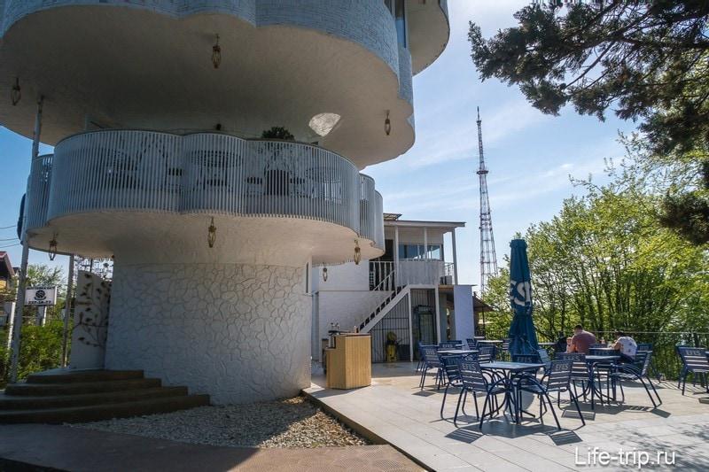 Смотровая площадка в Сочи - видовая башня Роза Ветров