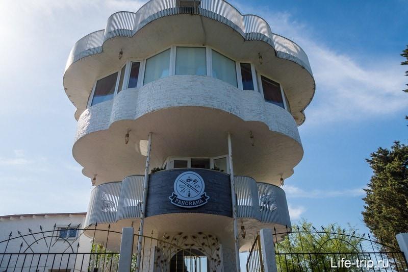 Видовая башня в Сочи - Роза Ветров