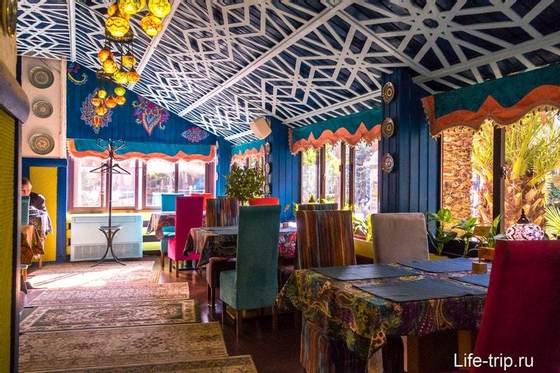 Кафе Тюбетейка в Сочи, левое крыло