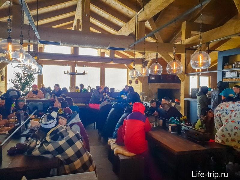 Ресторан Balagan в Роза Хутор  - из палаток в рестораны