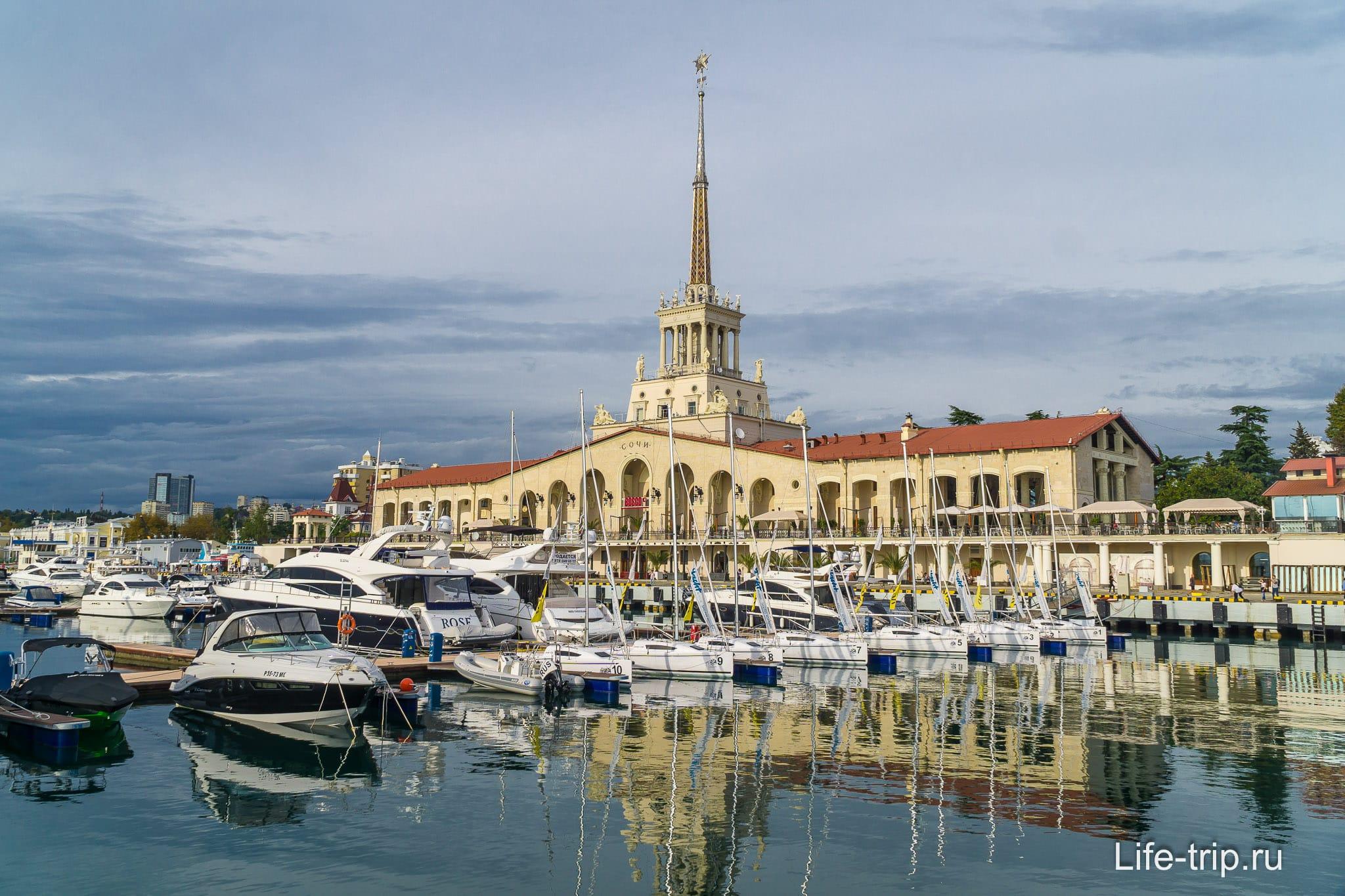 картинки порта в сочи территории является одной