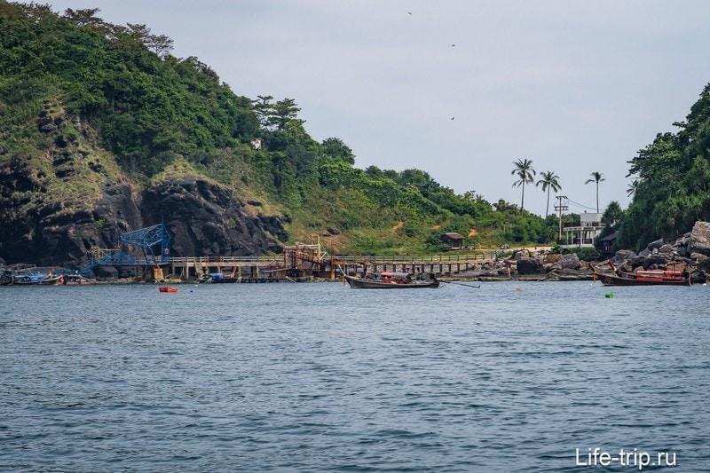 Пляж Лаем Тонг на Пи-Пи Доне