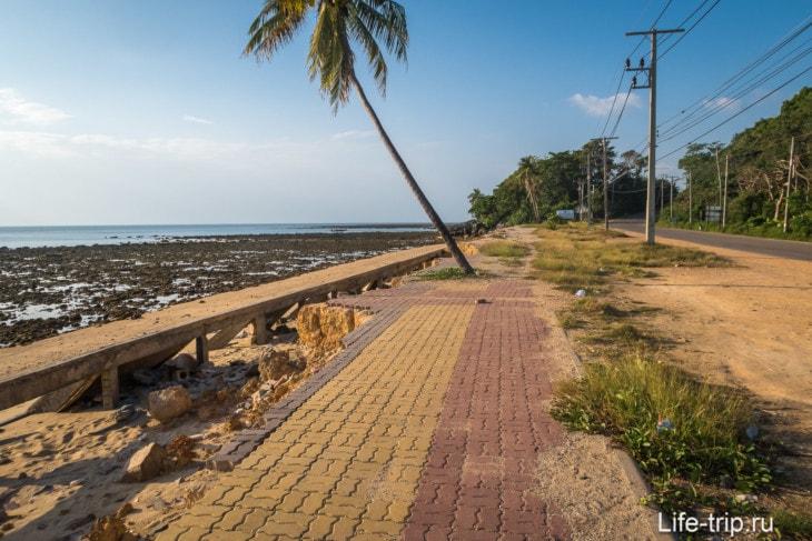 Пляж Клонг Тоаб (Klong Toab) на Ланте