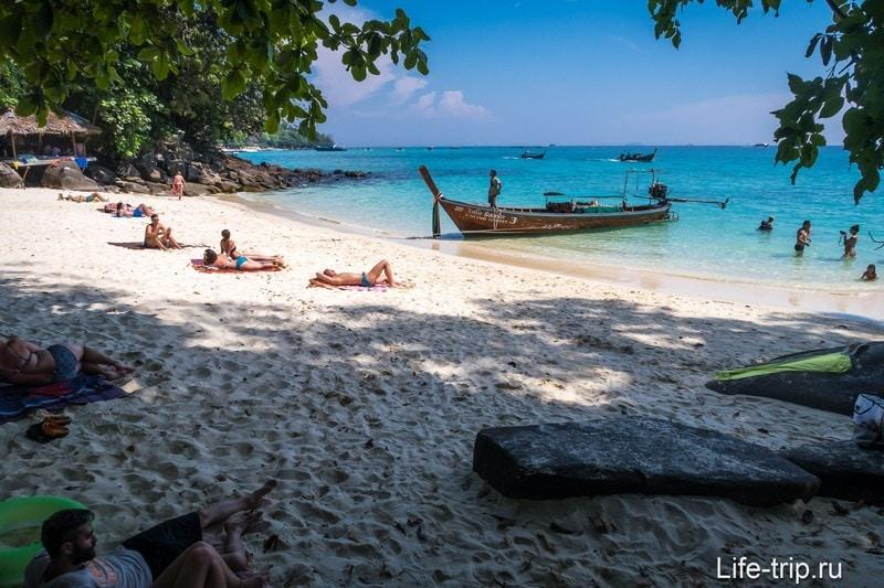 Пляж резорта Викинг, Пи-Пи Дон