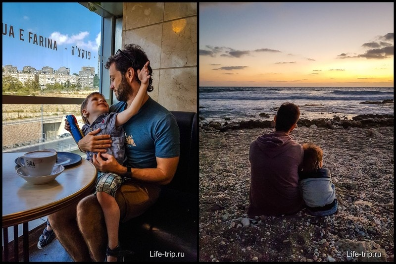 Периодические кафешки и прогулки у моря