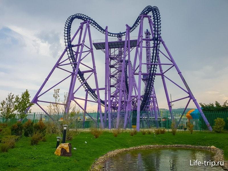 Парк развлечений в Сочи - полноценный парк аттракционов