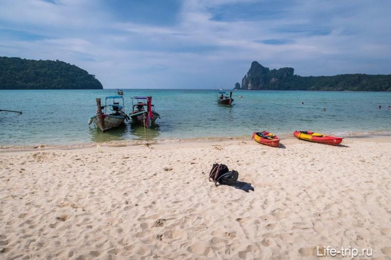 Пляж Ло Далам на Пхи Пхи