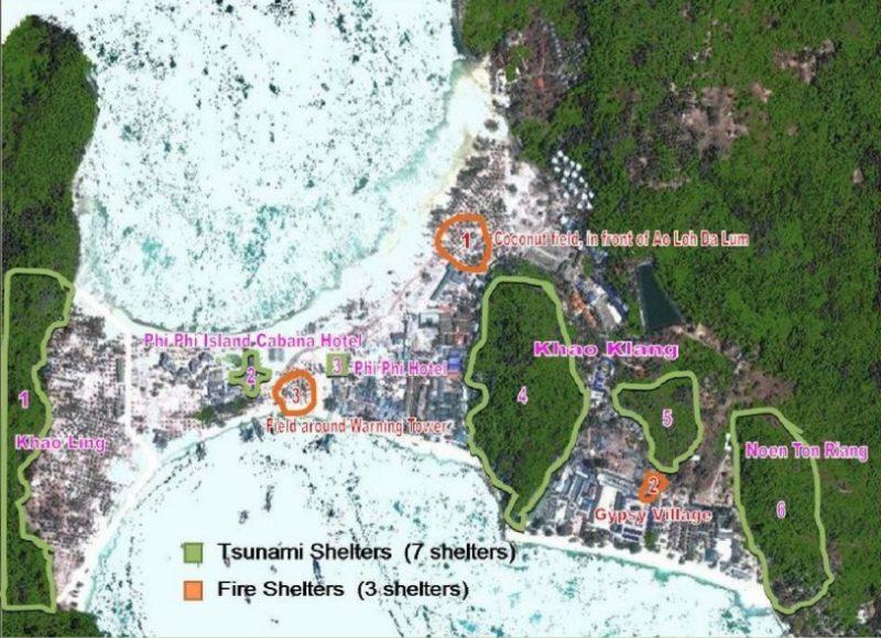 Где спасаться от цунами на Пхи Пхи