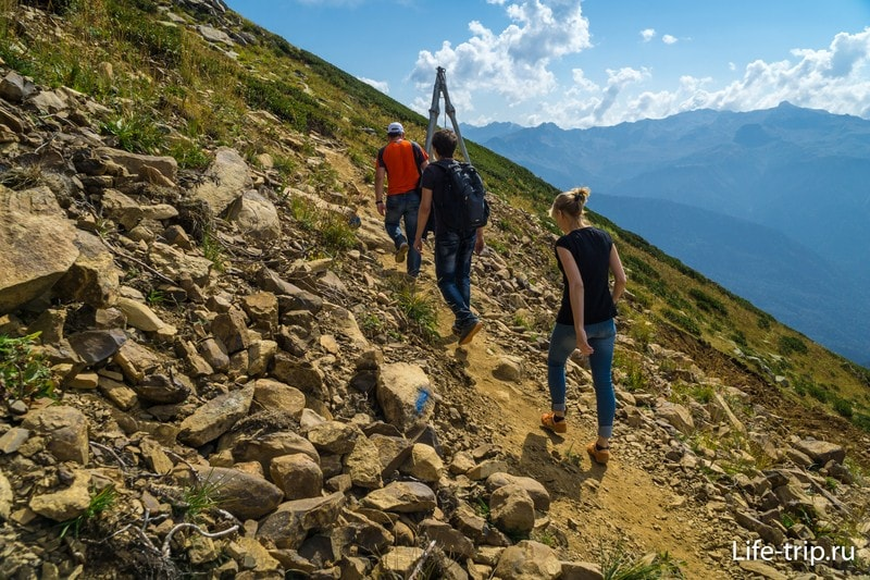 Эко-прогулки по горным тропам