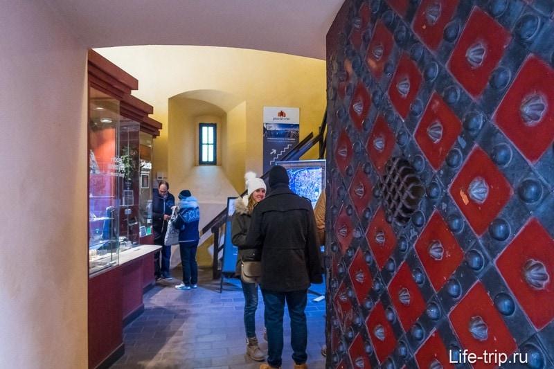 Вход в музей Карлова Моста