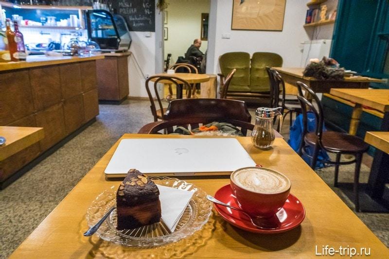 Кафе Zizkavarna в Праге