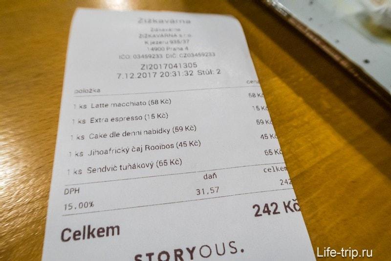Кафе Zizkavarna в Праге - неожиданно приятное место