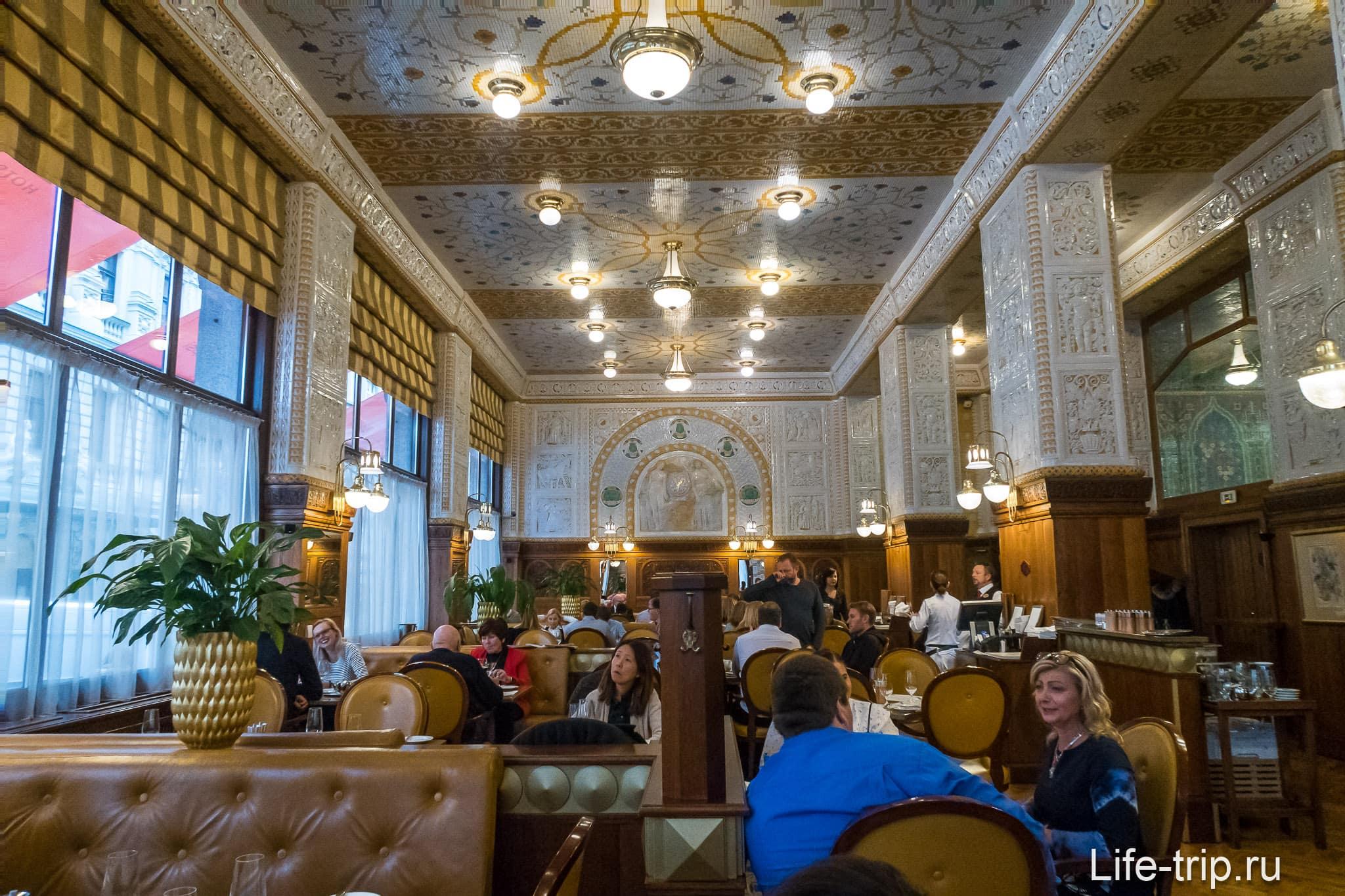Кафе Imperial в Праге