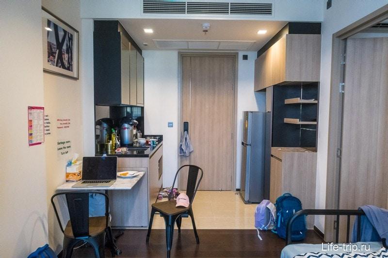 Хорошая квартира в Бангкоке с бассейном + бесплатный трансфер