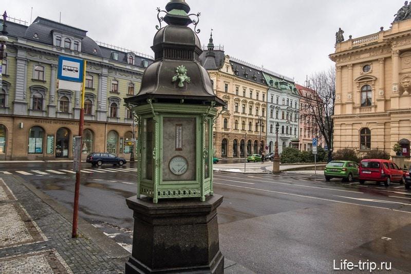 Площадь Эдварда Бенеша - главная площадь Либерец