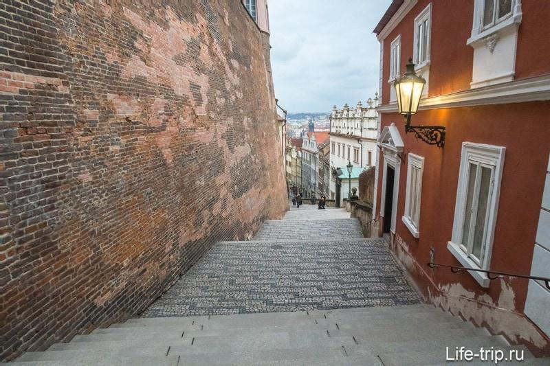 Новая замковая лестница в Праге