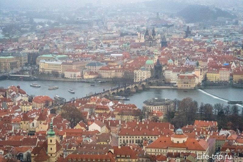 Петршинская башня - Эйфелева башня в Праге