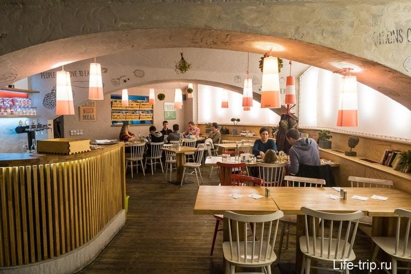 Ресторан Podolka в Праге - второй раз не приду