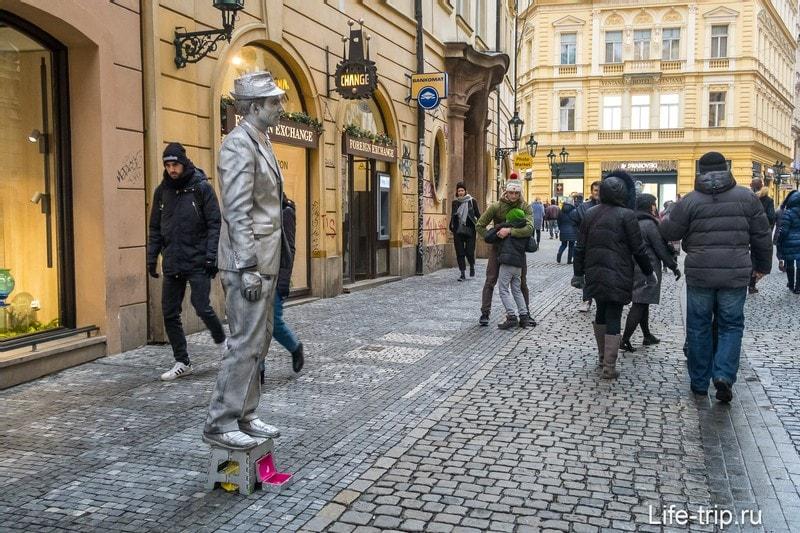Староместская площадь в Праге - город в городе