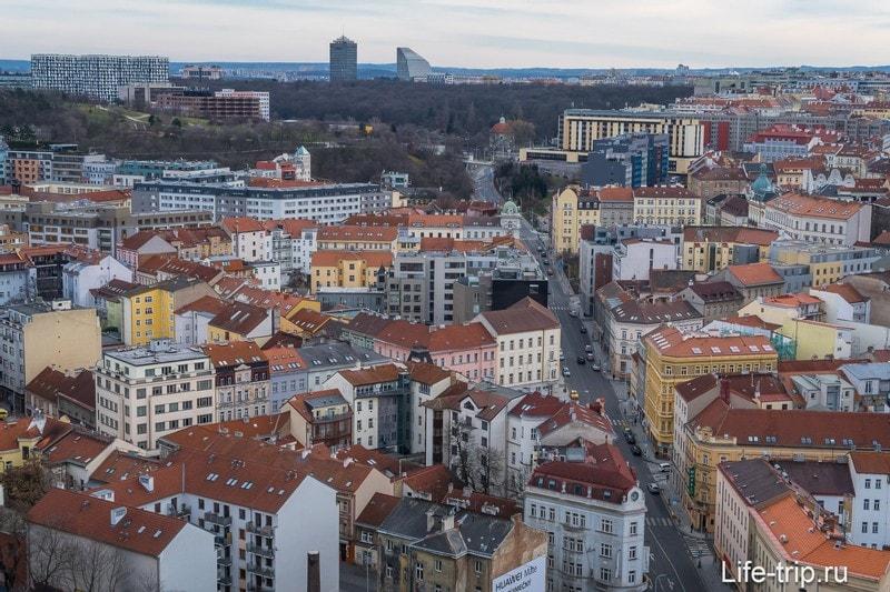 Витков холм в Праге - парк, памятник и смотровая площадка