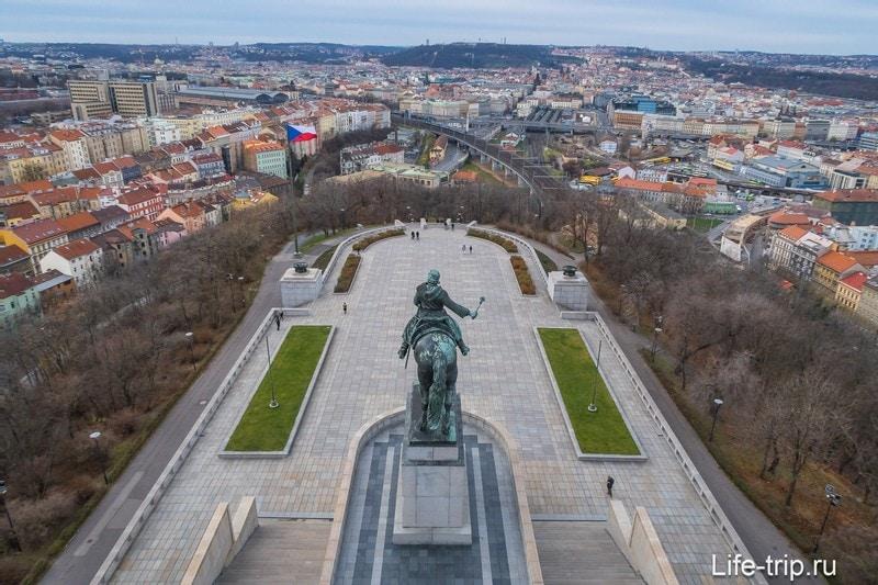Памятник Яну Жижке, Витков холм, Прага
