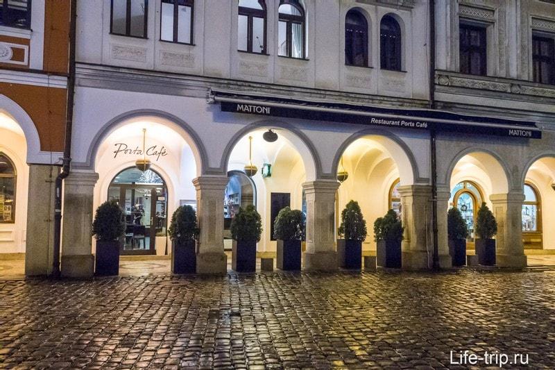 Porta Cafe в Либерец