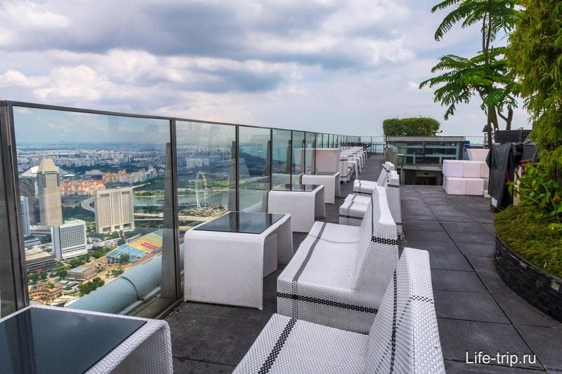 Лучшая смотровая площадка в Сингапуре