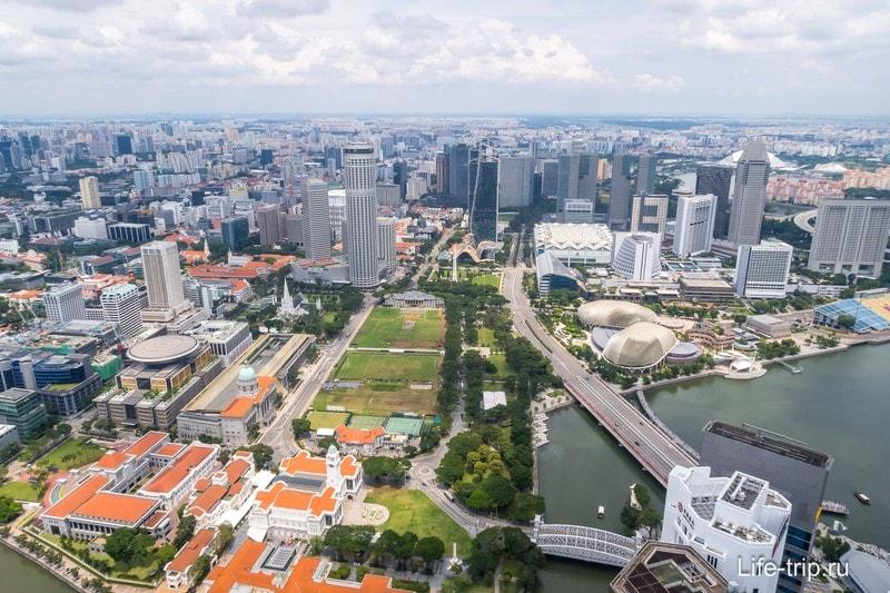 Лучшая смотровая площадка в Сингапуре - бар на крыше 1-Altitude