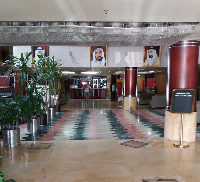 Везде портреты президента ОАЭ