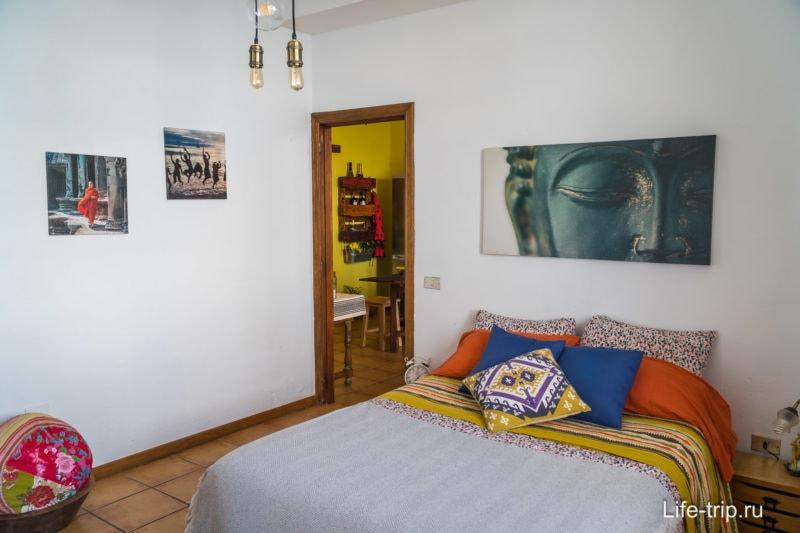 Винтажные апартаменты на севере Тенерифе с видом на море