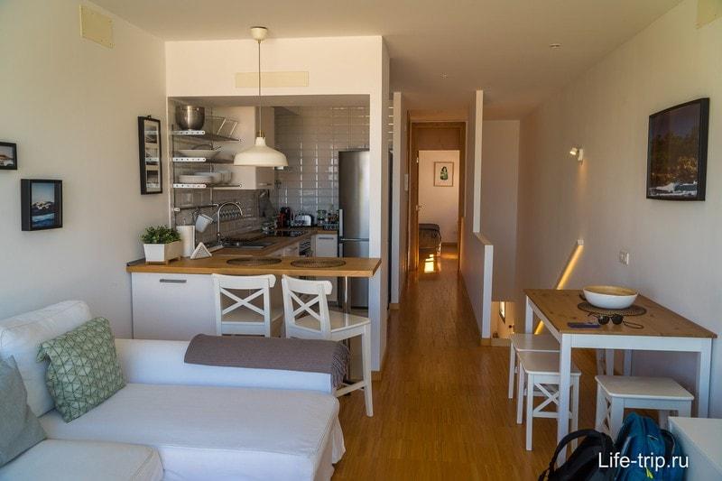Апартаменты на Тенерифе около Пуэрто-де-ла-Крус