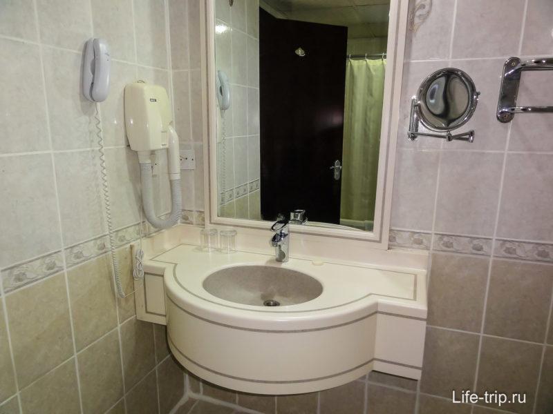 Фрагмент ванной комнаты