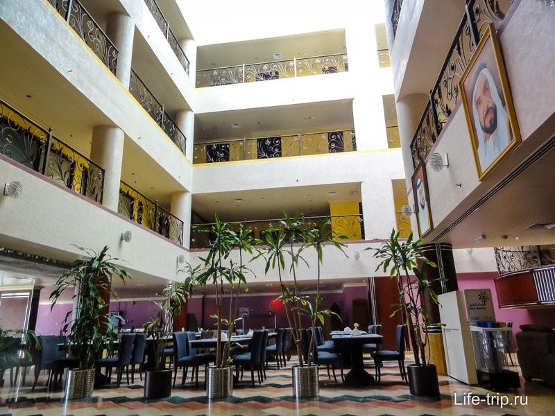 Внутренний интерьер отеля