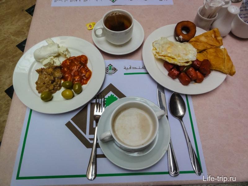 Разве я дома столько съедаю на завтрак?