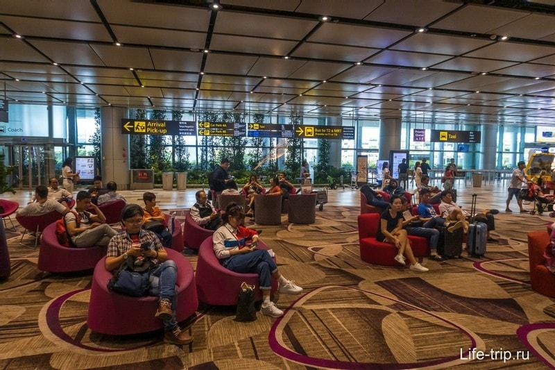 Аэропорт Чанги в Сингапуре - все для комфорта и отдыха